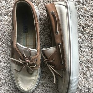 Sperry Shoes - Cream Colored Sperry's